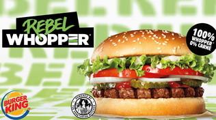 Burger King® annuncia una new entry in Italia: il Rebel Whopper®