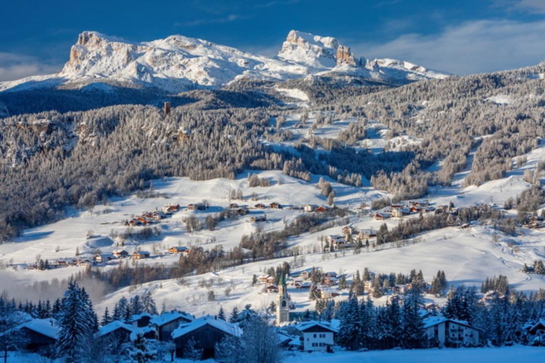 Cortina olimpica presenta le novità dell'inverno 2019
