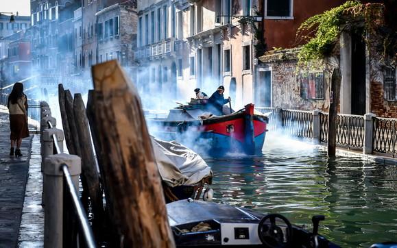 Torna il sole, a Venezia si cerca di ripartire
