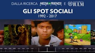 800 spot sociali dal 1992 al 2017