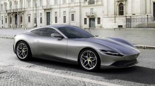 Ferrari Roma, stile senza tempo nella Città Eterna
