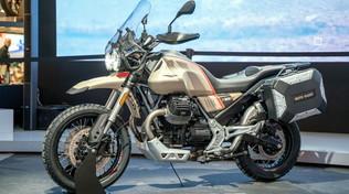Moto Guzzi V 85 TT Travel, fatta per viaggiare