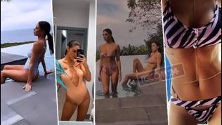 Belen e Cecilia Rodriguez, sorelle in bikini