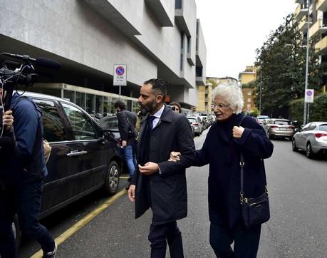 Liliana Segre parla alla Bocconi di Milano
