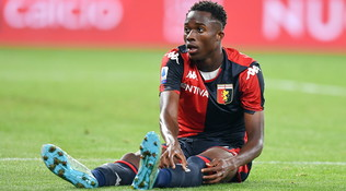 Genoa, stagione finita per Kouamé: rottura del legamento crociato
