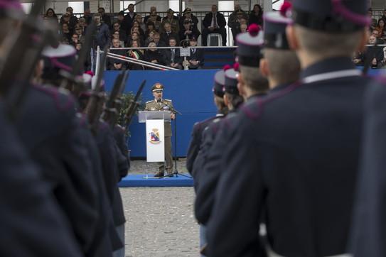A Napoli giurano gli 88 nuovi allievi della scuola militare Nunziatella