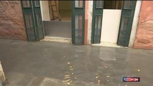 Maltempo a Venezia, i danni alla Fenice