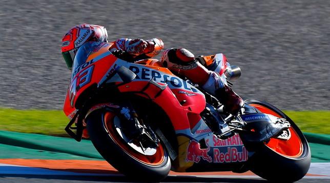 MotoGp, a Valencia dominio Marquez e triplete Honda   Valentino chiude ottavo