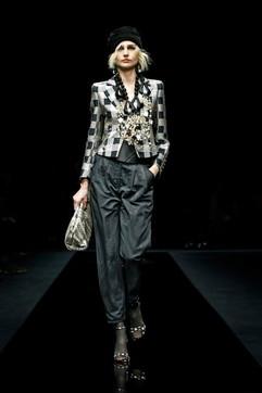 Moda donna, Pre-Fall 2020-2021: la sfilata di Armani