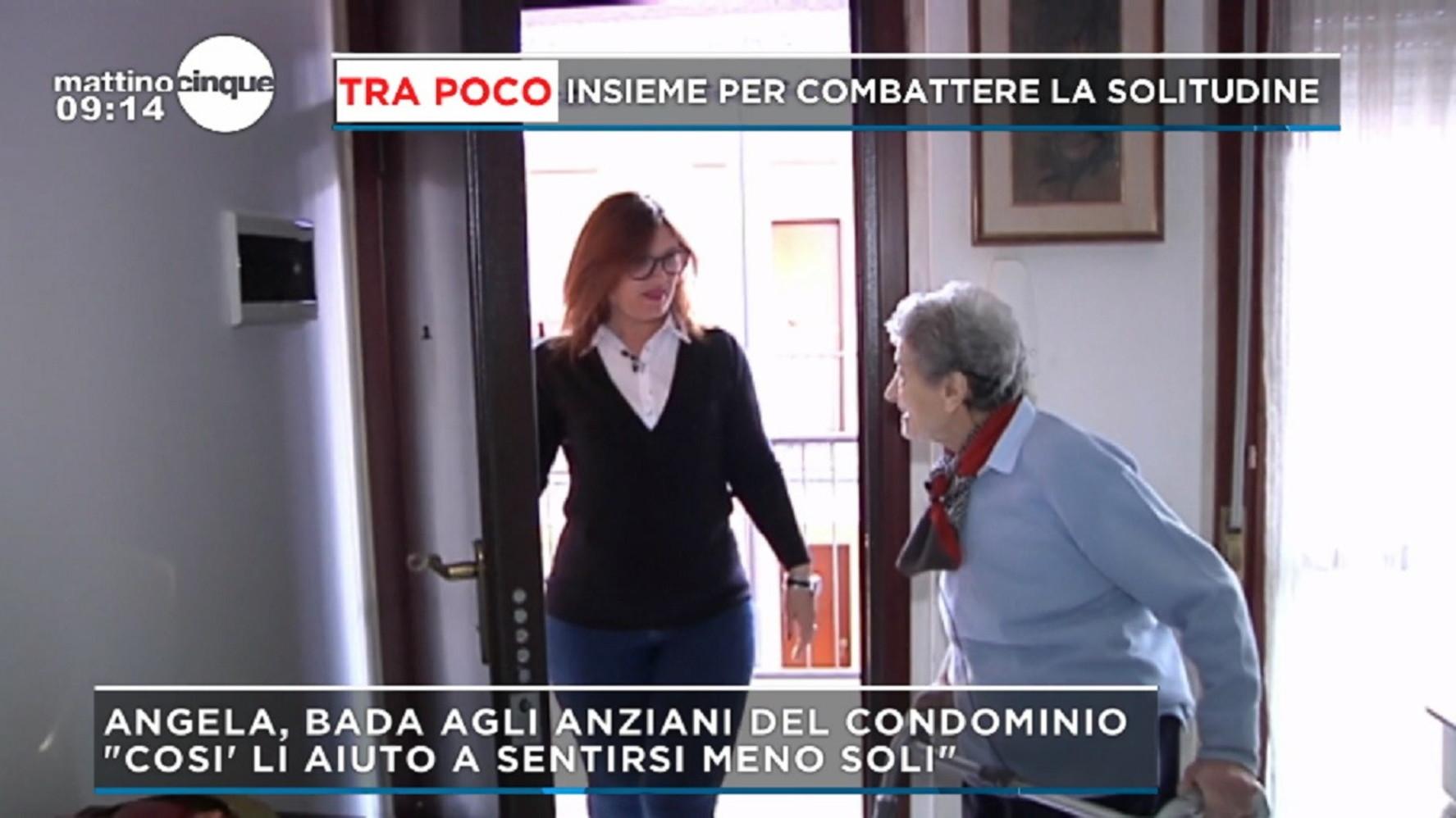 """Pavia, badante condominiale per i pensionati: """"Per assisterli nelle commissioni giornaliere"""" - TGCOM"""
