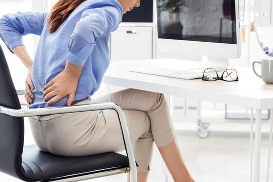 In ufficio: stop ai dolori da posizione
