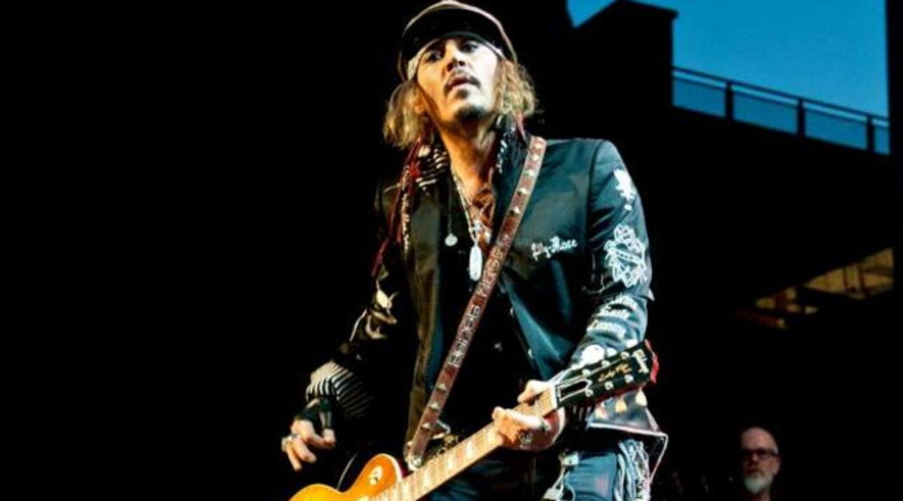 Johnny Depp torna in Italia con i suoi Hollywood Vampires