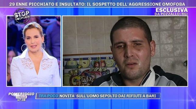 Barbara d'Urso chiede scusa in diretta a Vladimir Luxuria