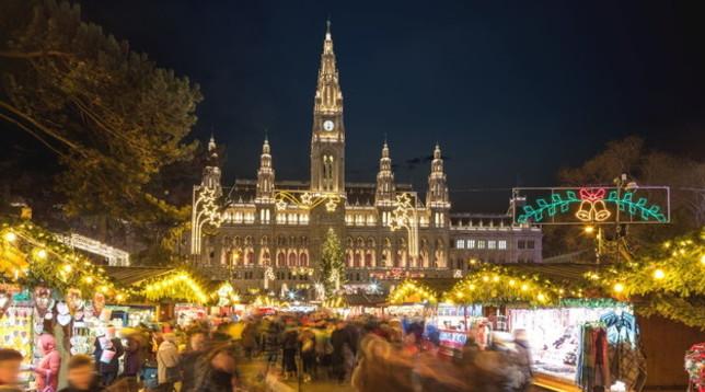 A Vienna per un scintillante Natale a tempo di valzer