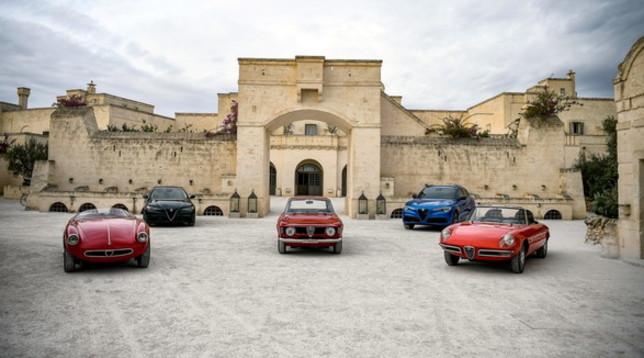 Alfa Romeo in Puglia per le nuove Stelvio e Giulia