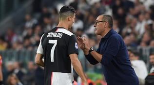 """Juve, Sarri: """"Ronaldo? Rientro programmato per la Champions"""""""