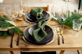 Casa: dieci idee low cost per la tavola di Natale