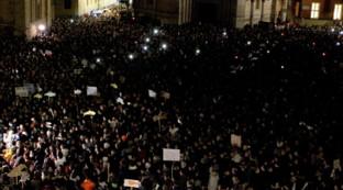 Migliaia di Sardine in piazza a Parma