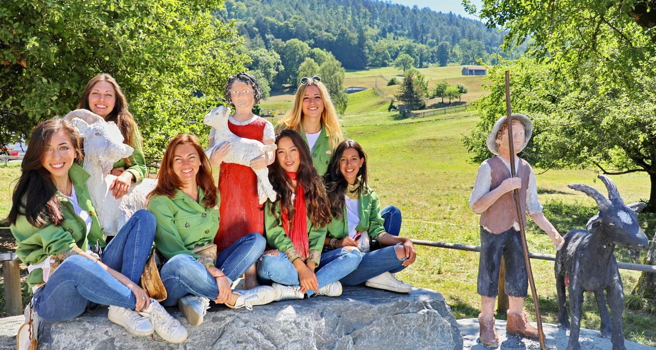 Donnavventura, tra il villaggio di HeidieSt.Moritz