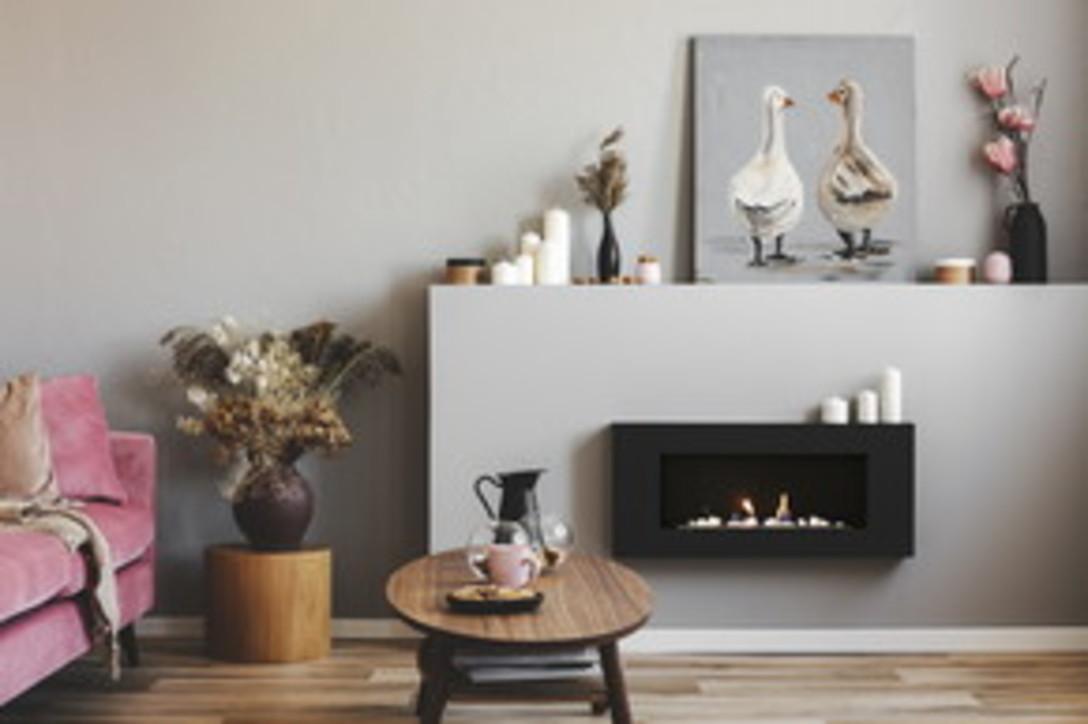 Riscalda la casa e il cuore con un caminetto di design
