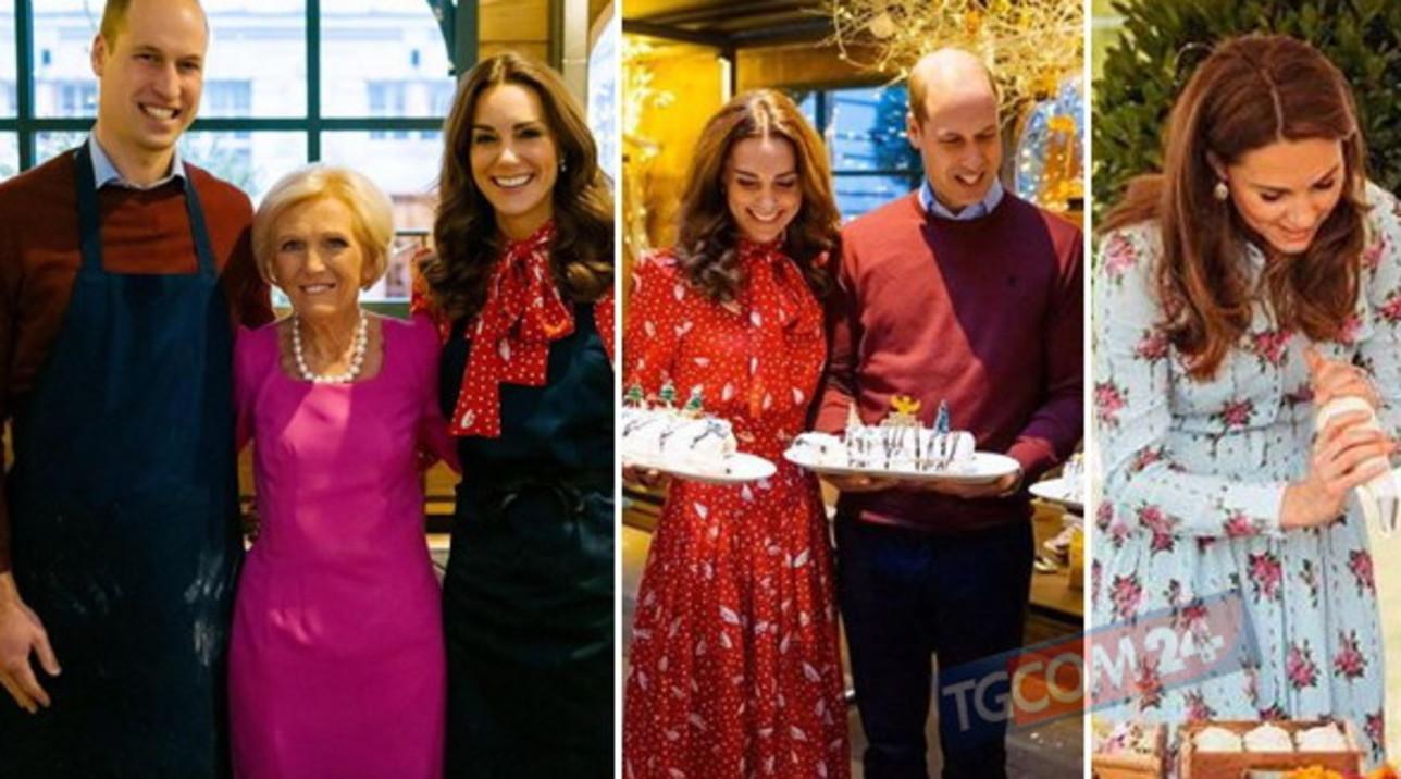 Kate e William in versione chef per un giorno