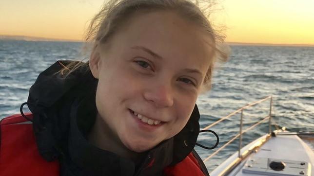 Greta Thunbergapprodata a Lisbona: traversata dell'Atlantico a zero emissioni