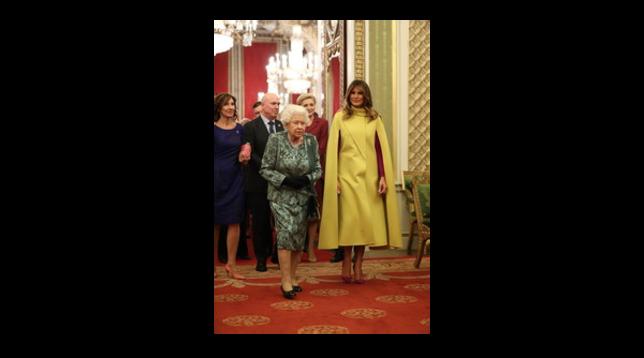 Con il ricevimento realea Buckingham Palace, al via il vertice Nato a Londra