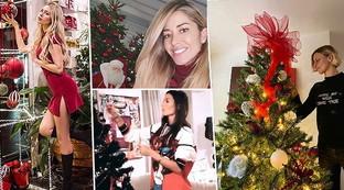 I vip si preparano al Natale, guarda che addobbi