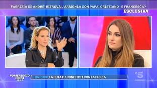 """Fabrizia De Andrè a Francesca: """"Chiamami. Mi spiace che ti stia perdendo gli anni più belli di mio figlio"""""""