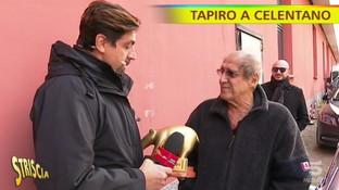 """Tapiro d'oro a Celentano dopo il flop di """"Adrian"""": """"Ascolti bassi? Lì c'è il futuro"""""""