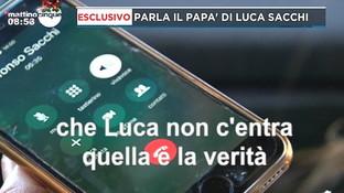 """Omicidio Sacchi, il papà di Luca dopo la deposizione di Anastasia: """"Ha detto una mezza verità"""""""