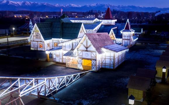 A Milano il grande Villaggio di Babbo Natale