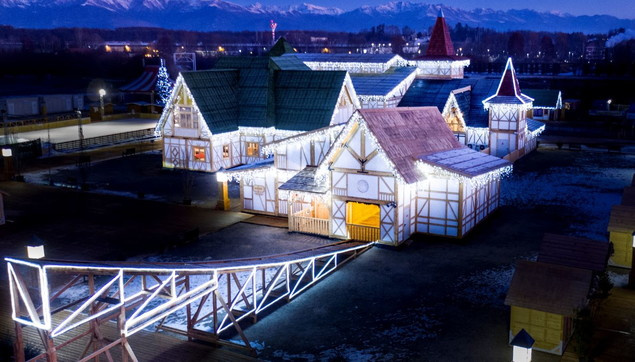 Sogno di Natale: il grande villaggio di Santa Klaus