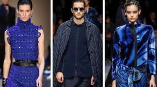 Classic Blue colore del 2020: la moda l'aveva capito da un pezzo