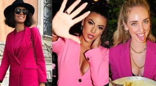 Giacca rosa: il trend che fa impazzire Belen e Caterina Balivo