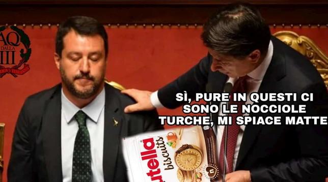 Salvini contro la Nutella, il web si scatena: meme ironici sui social