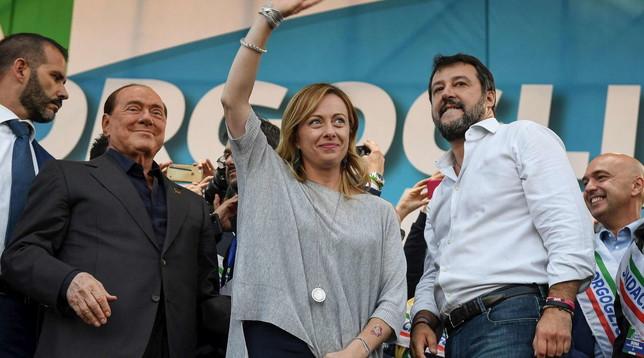 Incontro del centrodestra per le Regionali | Berlusconi, Salvini e Meloni: