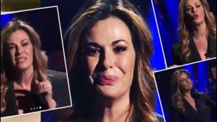 Vanessa Incontrada in lacrime: