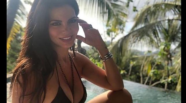 Laura Torrisi festeggia a Bali 40 anni