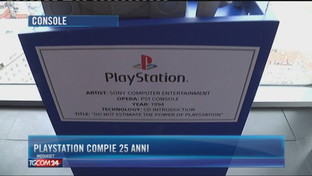 Console, Playstation compie 25 anni