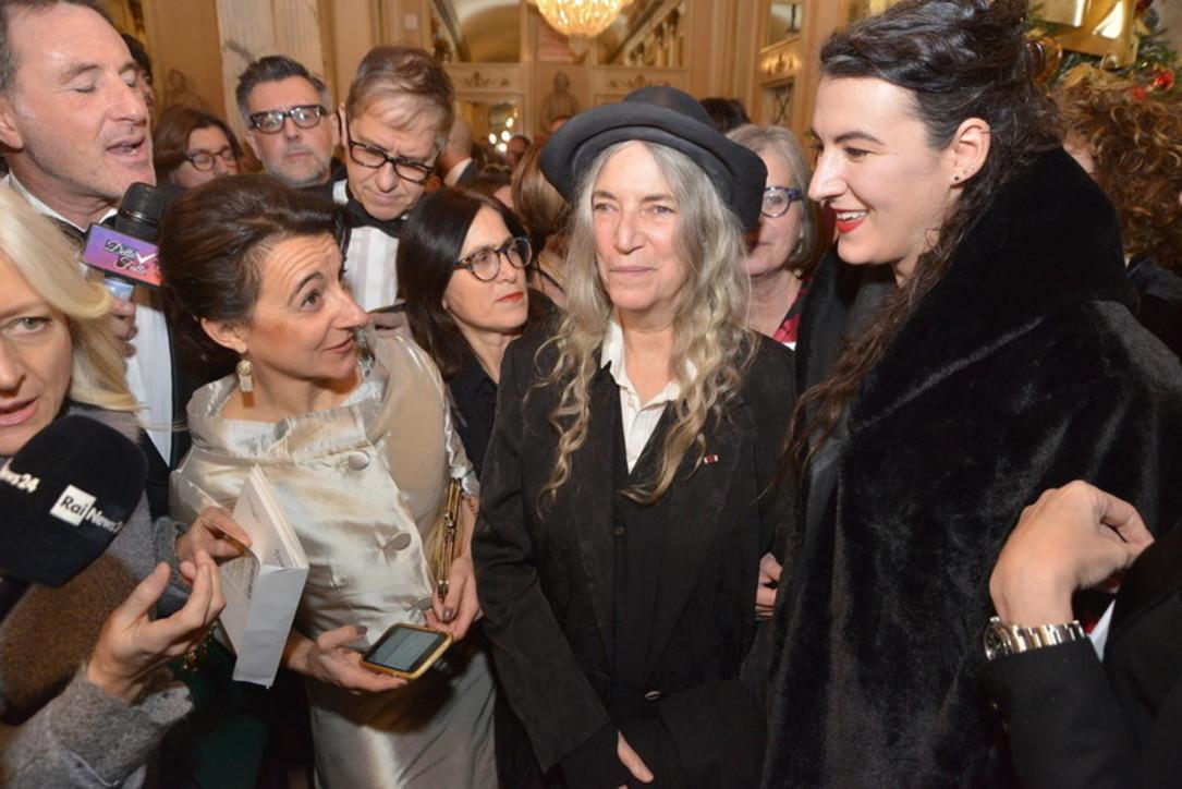 Scala, gli ospiti della Prima: Patti Smith la prima ad arrivare