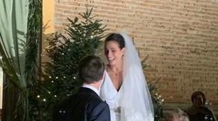 Martina Maltagliati ha detto sì, fiori d'arancio a Tgcom24