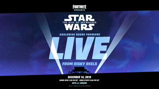 Fortnite svelerà una scena inedita di Star Wars: L'Ascesa di Skywalker