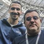 """Raiola fa il misterioso: """"Ibrahimovic? Chissà, siamo uomini liberi"""""""