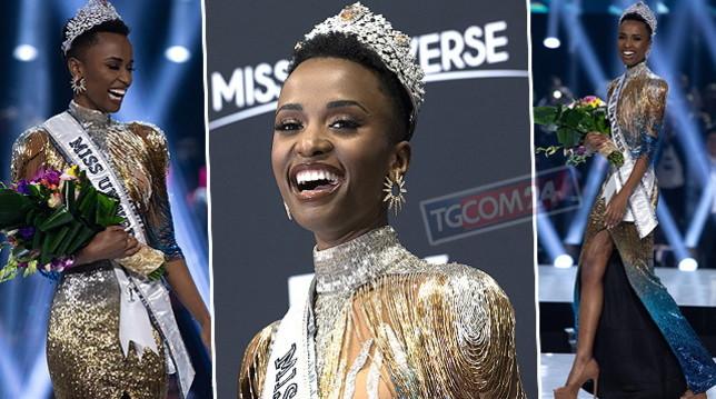 Ecco Miss Universo 2019: è Zozibini Tunzi