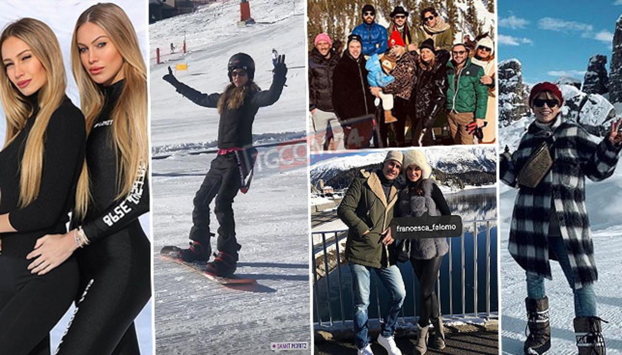 """""""Immacolate"""" sulla neve, ecco le vip in montagna"""