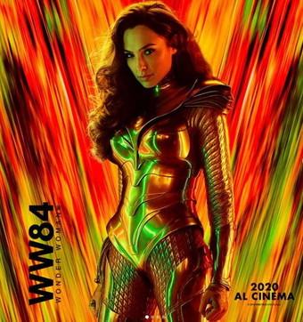 """Wonder Woman 1984"", i quattro poster"