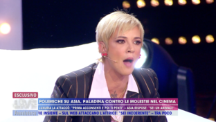 """Giuseppe Crucianisulla violenza subita da Asia Argento: """"Potevi dire di no"""""""