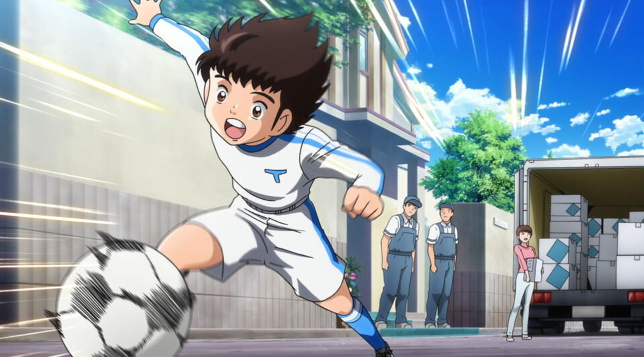 """""""Captain Tsubasa"""", le immagini del remake dell'anime anni 80"""