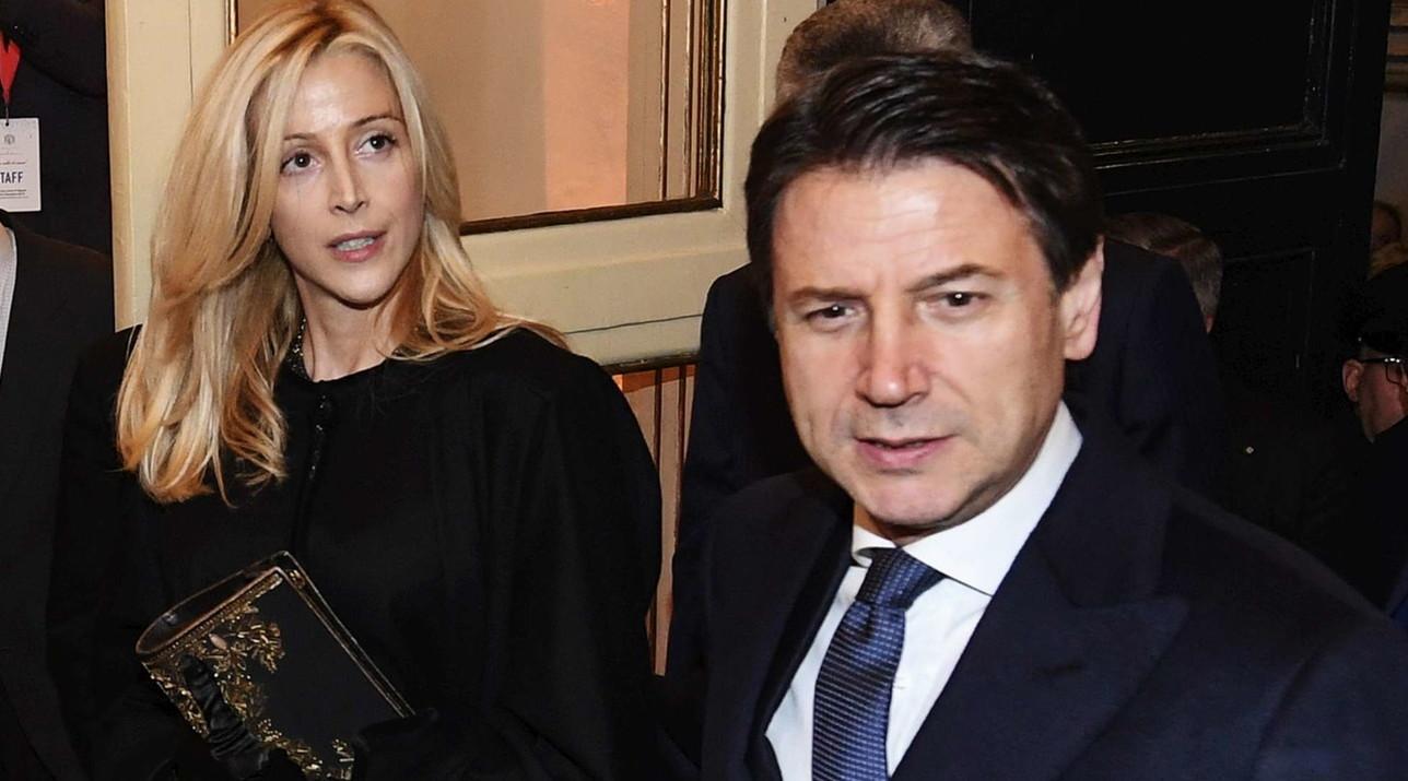 Serata di gala per Giuseppe Conte e Olivia Paladino